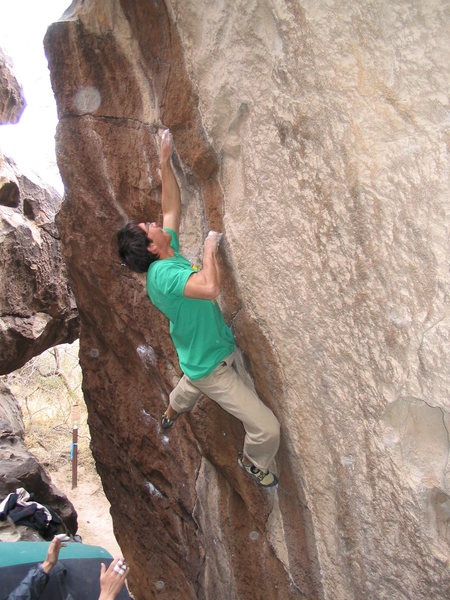 Rock Climbing Photo: In this shot you can get an idea of what the landi...