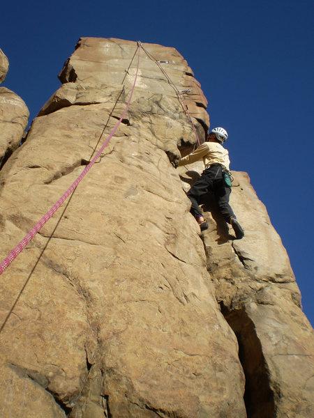 Rock Climbing Photo: Single layers and 40 degree temps.  Nice.