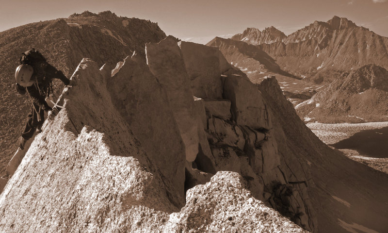 fun ridge climbing