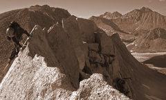 Rock Climbing Photo: fun ridge climbing