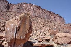 Rock Climbing Photo: Split Rock - V2?