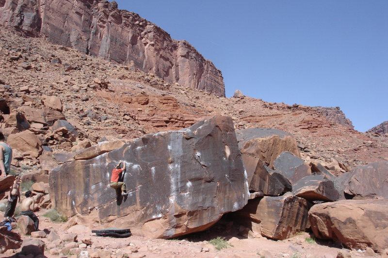 Rock Climbing Photo: Black Box - V1