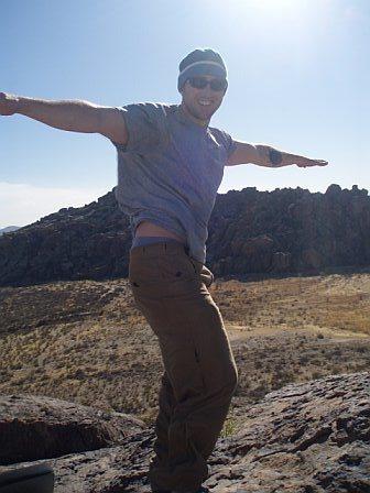 Rock Climbing Photo: Windy!