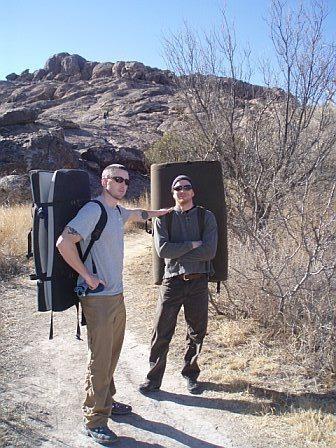 Rock Climbing Photo: Bill and I