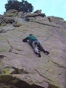 Rock Climbing Photo: Lyons area - Unknown 10a