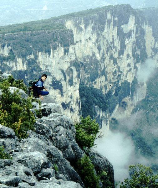 Rock Climbing Photo: Gorge du Verdon, France, photo: Bob Horan Collecti...