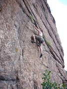 Rock Climbing Photo: Secret Crag.... Don't ask - 5.6 slab