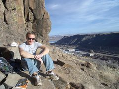 Rock Climbing Photo: chilling