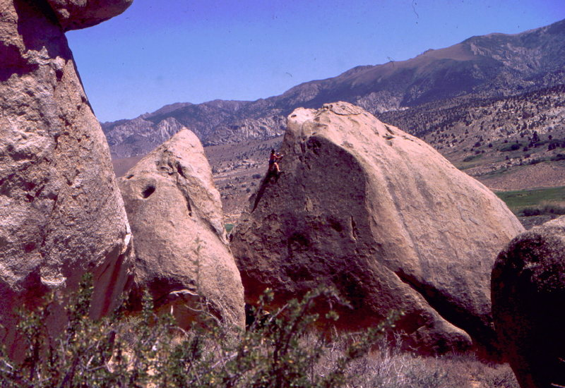Rock Climbing Photo: BHhb in the Buttermilks, photo: Bob Horan Collecti...