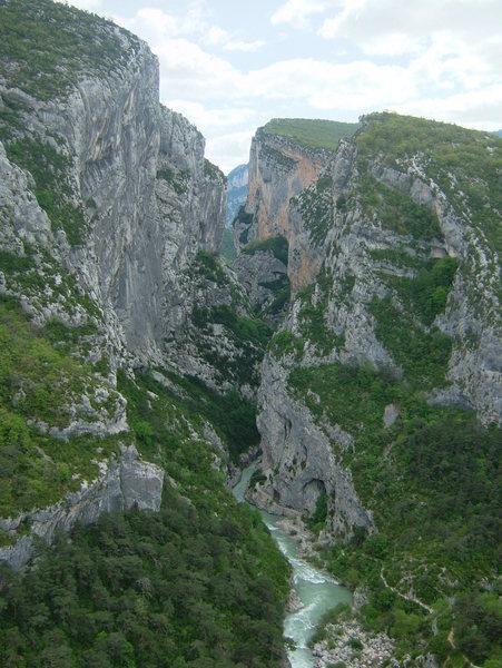 Rock Climbing Photo: Verdon