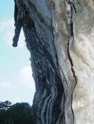 Rock Climbing Photo: Tufa!