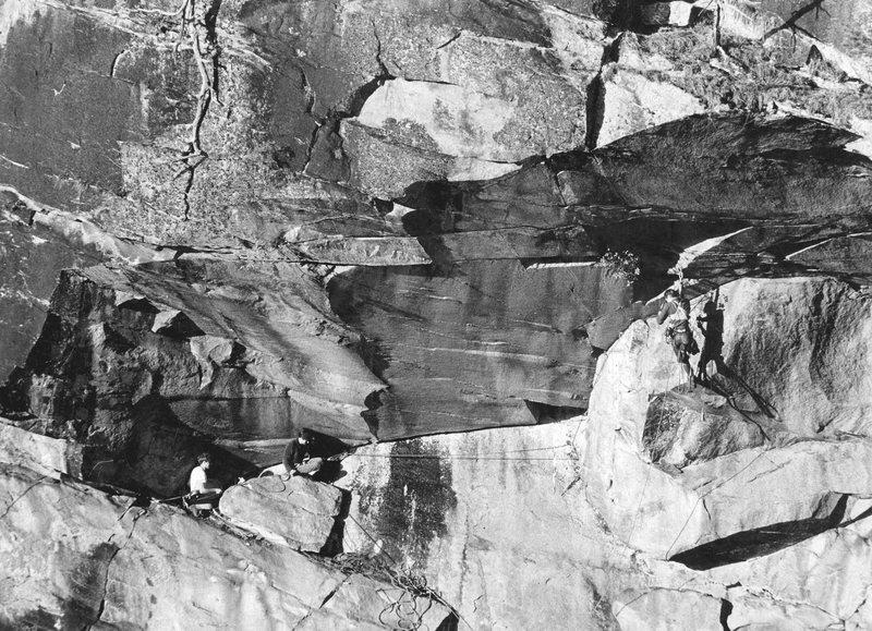 Rock Climbing Photo: Dinosaurs climbing in Tallulah Gorge