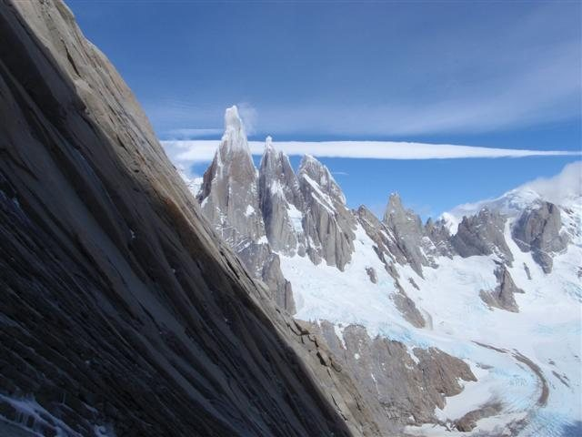 Cerro Torre from the approach to de la 's'