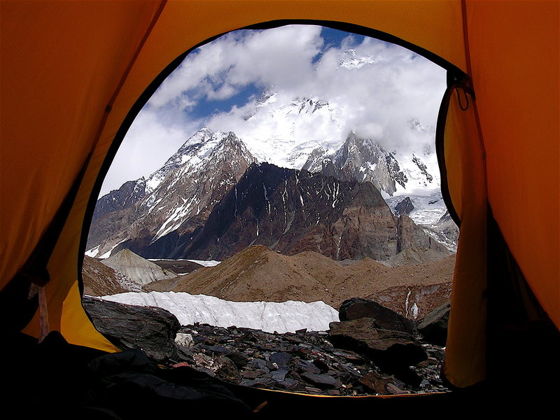 Room with a view: Broad Peak (26, 444 feet)