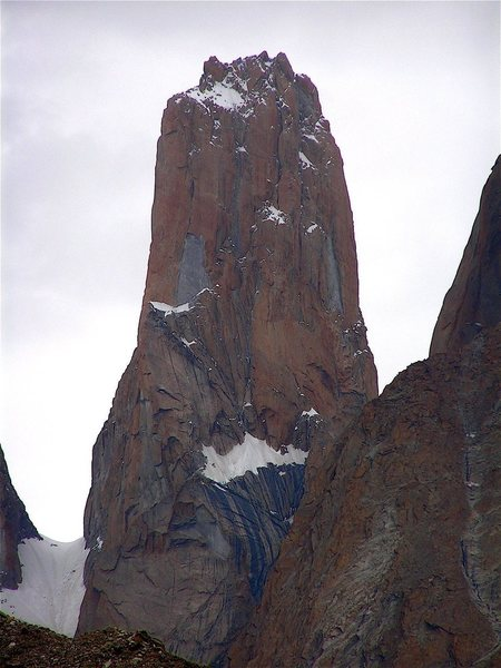 The Nameless Tower (19,000 feet) , Trango Group, Karakoram Himalaya, Pakistan.