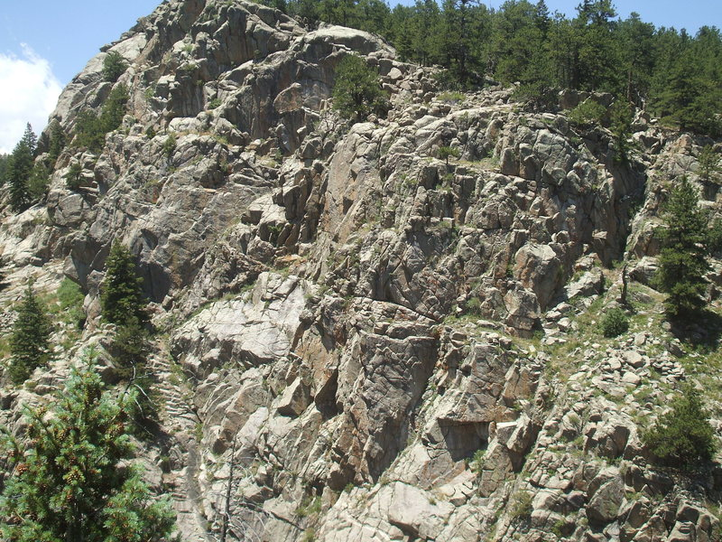 Rock Climbing Photo: Vanishing Point, Jesse's Wall, Upper Dream Canyon,...