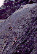 Rock Climbing Photo: Roger Hughes and Skip Guerin on Rock Odyssey, phot...
