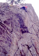 Rock Climbing Photo: Climbing Adam's Arete, Serenity Spire, photo: Bob ...