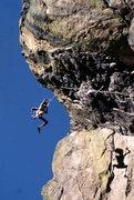 Rock Climbing Photo: Air on Your Mother.  Photo: Bob Horan.