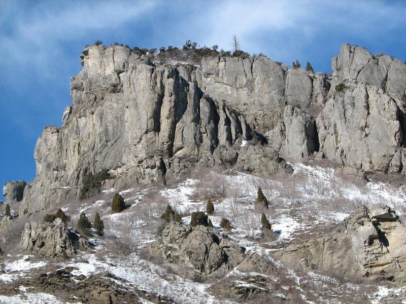 Rock Climbing Photo: New area 1
