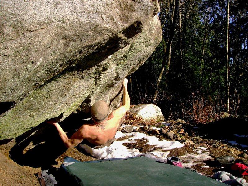 Rock Climbing Photo: Le Predateur Bas V8