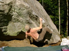 Rock Climbing Photo: Great winter conditions