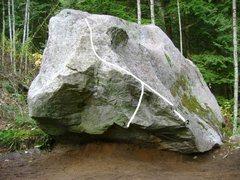 Rock Climbing Photo: 3. Le Predateur Bas V8