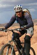 Biking in Moab, Porcupine rim,