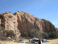 Sweet Rock, Cochise Stronghold.  Good and Plenty, the 5.7, starts on the left.
