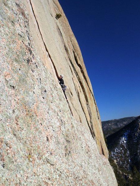 Rock Climbing Photo: Alison Conrad #2.