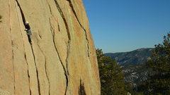 Rock Climbing Photo: Alison Conrad, 01/17/09.