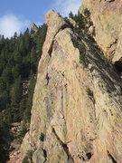 Rock Climbing Photo: Super Slab, Vertigo Tower, Lower Tower One.