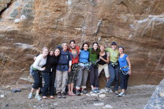 Rock Climbing Photo: Girl's Climbing Day January 18th, 2009 Prison Camp