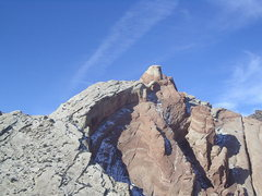 Rock Climbing Photo: Looking West to the Pillars of Solomon and the Gol...