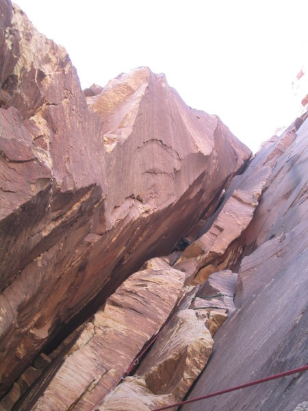 Rock Climbing Photo: After a couple short, easy pitches, you gain entra...