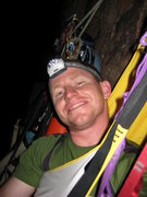 Rock Climbing Photo: Slept in a hammock on Prodigal Son in Zion.  Not v...