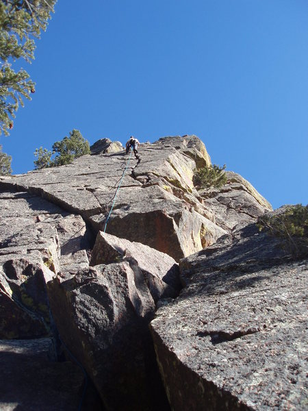 "Rock Climbing Photo: ""The route""."