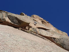 Rock Climbing Photo: The possibility of riding the third belay ledge to...