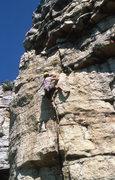 Rock Climbing Photo: No Exit 5.10+ Bob Bickford