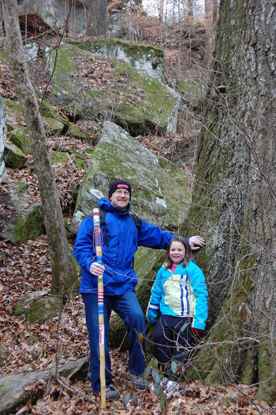 Rock Climbing Photo: Me & my granddaughter Kianna