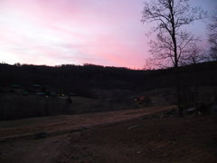 Rock Climbing Photo: Watching the sun come down at the Ranch.
