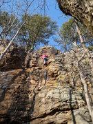 "Rock Climbing Photo: Paul C's onsight of ""Green Goblin"""