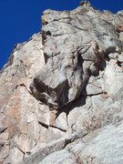 Rock Climbing Photo: Looking up to Dreamer's Dream Arete.