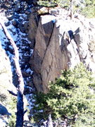 Rock Climbing Photo: Serenity Spire's north face.