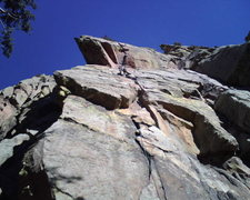 Rock Climbing Photo: Sorry about the bad photo. Fun climb! the roof get...