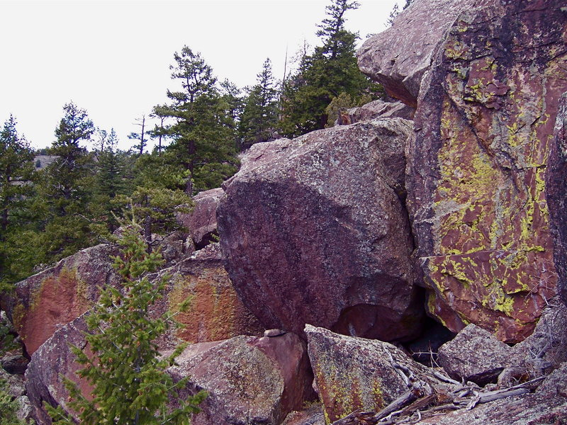Rock Climbing Photo: Land of Plenty Boulders.