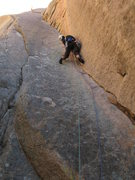 "Rock Climbing Photo: Scott leading the beautiful ""Coati Corner&quo..."