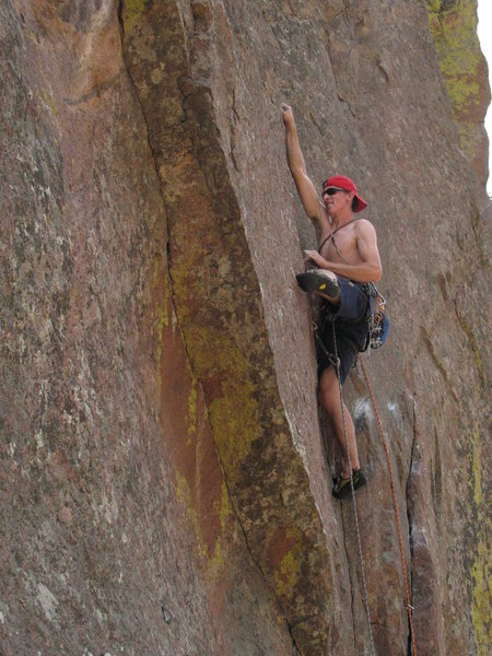 Rock Climbing Photo: Sticking the good hold!