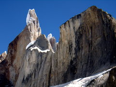 Rock Climbing Photo: Cerro Torre and El Macho