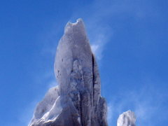 Rock Climbing Photo: Cerro Torre after a storm.  Jan 2009.